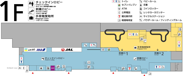 1F层地图